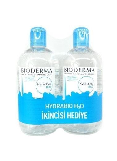 Bioderma  Hydrabio H2O 2x500ml İkiz Set Renksiz